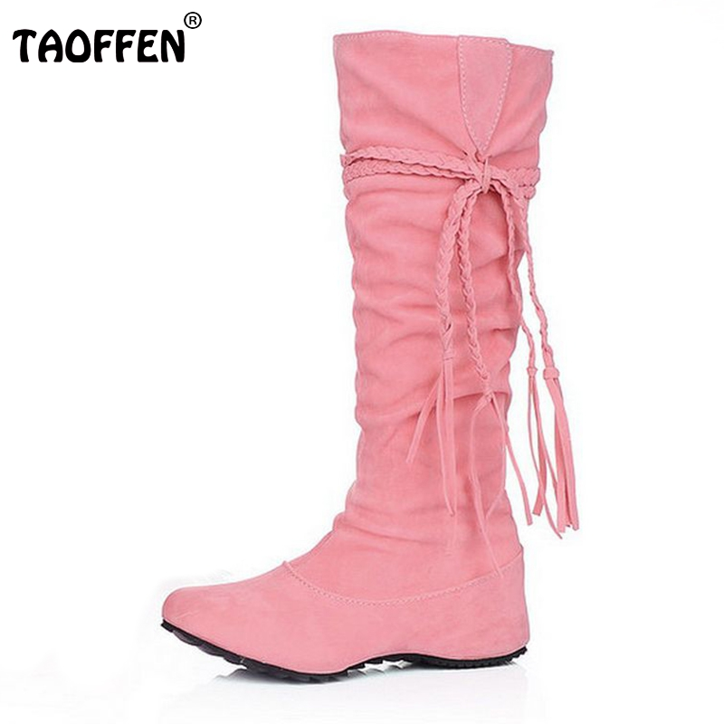women flat over knee boots ladies riding fashion long snow boot warm winter brand botas footwear shoes P1502 size 34-43 size 30 44 women flat over knee boots ladies riding fashion long snow boot warm winter brand botas footwear shoes p10263