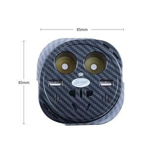 Image 5 - Inversor de corriente Universal de 150 W, 12V a 110 V, 220 V, inversor de coche, enchufe de encendedor de cigarrillos, inversor de 12v y 220v con doble USB