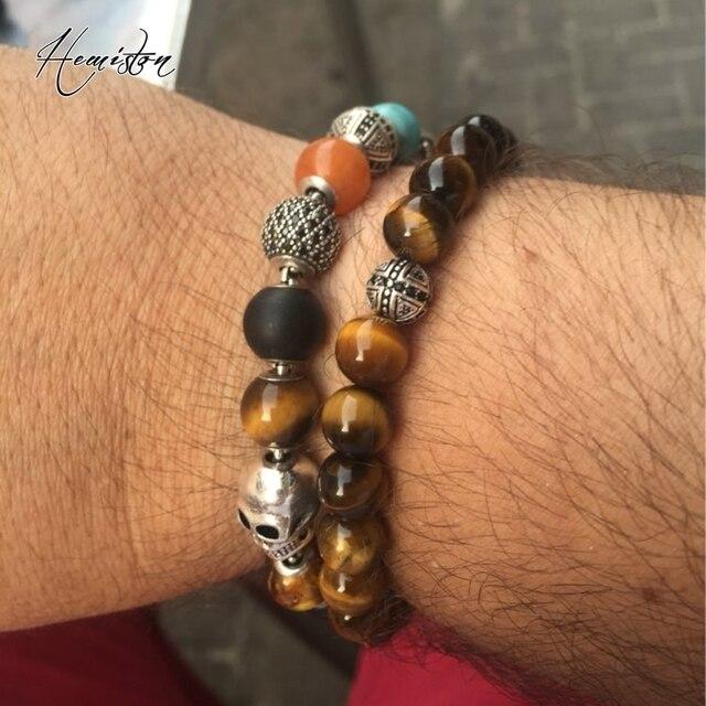 Лидер продаж эластичный браслет thomas aaa с бусинами тигровый