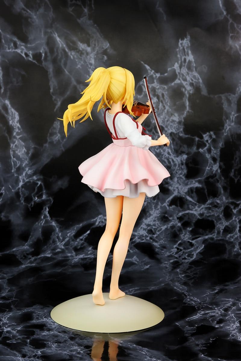 Anime Your Lie in April Kaori Miyazono PVC Acción Figura Figurilla 23cm