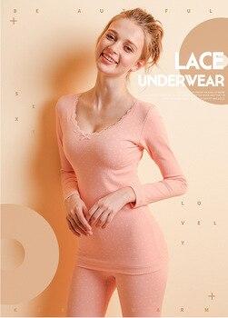 Envío Gratis, venta al por mayor de invierno ropa interior térmica gruesa súper suave para mujer conjuntos de ropa interior sexy de alta calidad