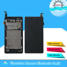 """5.5"""" Original M&Sen For Wiko Robby LCD Screen Display+Touch Screen Panel Digitizer With Frame For Wiko Robby Display Replacement"""