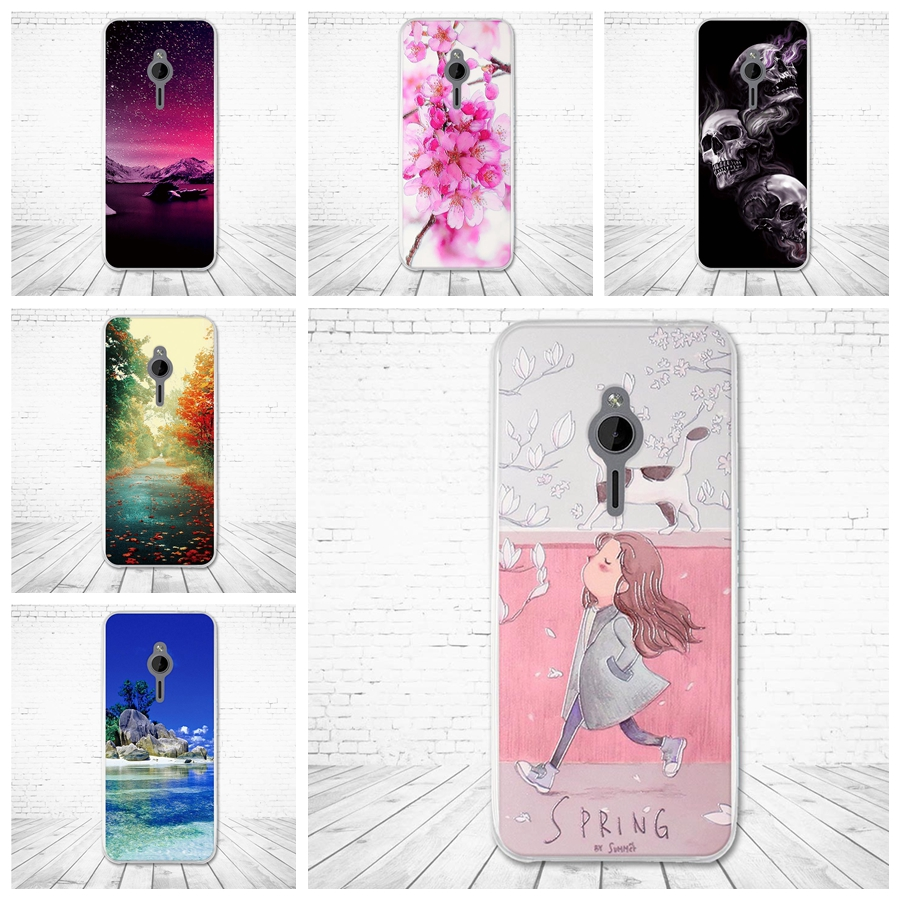 Fashion Silicone Case For <font><b>Nokia</b></font> Lumia <font><b>230</b></font> Soft TPU Back Cover for Nokia230 Lumia230 Flowers Colorful Protective Cases Fundas image