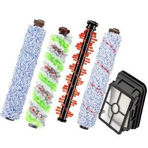 Image 1 - 5Pcs Belangrijkste Borstel Roller & Hepa Filter Voor Bissell Crosswave1866 1868 1926 1785