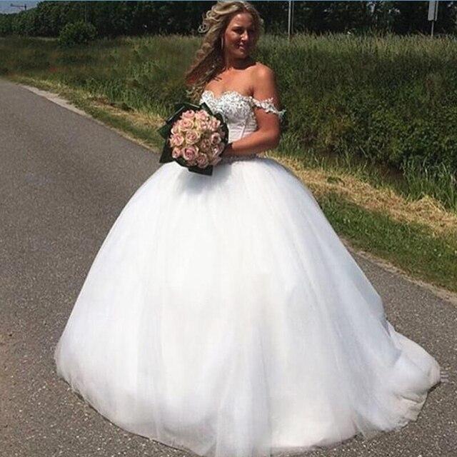 Niesamowite Zroszony Gorset Suknia Balowa Suknie ślubne 2016 Jesień