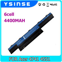 YSINSE Laptop Battery For Acer AS10D31 AS10D41 AS10D51 AS10D61 AS10D71 Aspire 4741 4551 5741G AS10D75 5742G 5552G 5742 5750G(China)