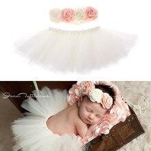 Лидер продаж; реквизит для фотосессии новорожденных; Детский костюм; наряд принцессы; юбка-пачка для малышей; повязка на голову; реквизит для фотосессии