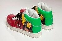 Kasım Yeni Varış Sınırlı Sayıda 100% Premium Deri Süet  Bob Marley  rasta deri Ayakkabı ile Epacket Nakliye Dünya Çapında.