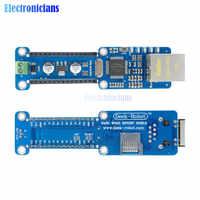 Ethernet estándar Nano escudo W5100 LAN Ethernet Módulo de red Micro-SD apoyo TCP, UDP para Arduino V3.0 R3 UNO mega 2560