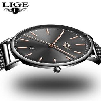 093e4fa0ff7d En este momento nueva moda negro relojes de mujer 2019 de alta calidad  Ultra delgado reloj de cuarzo de mujer elegante vestido mujer reloj femenino