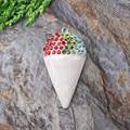 Free Shipping 10pcs/lot Rhinestone Pendant Chunky Baby Necklace Ice Cream Cone Pendant