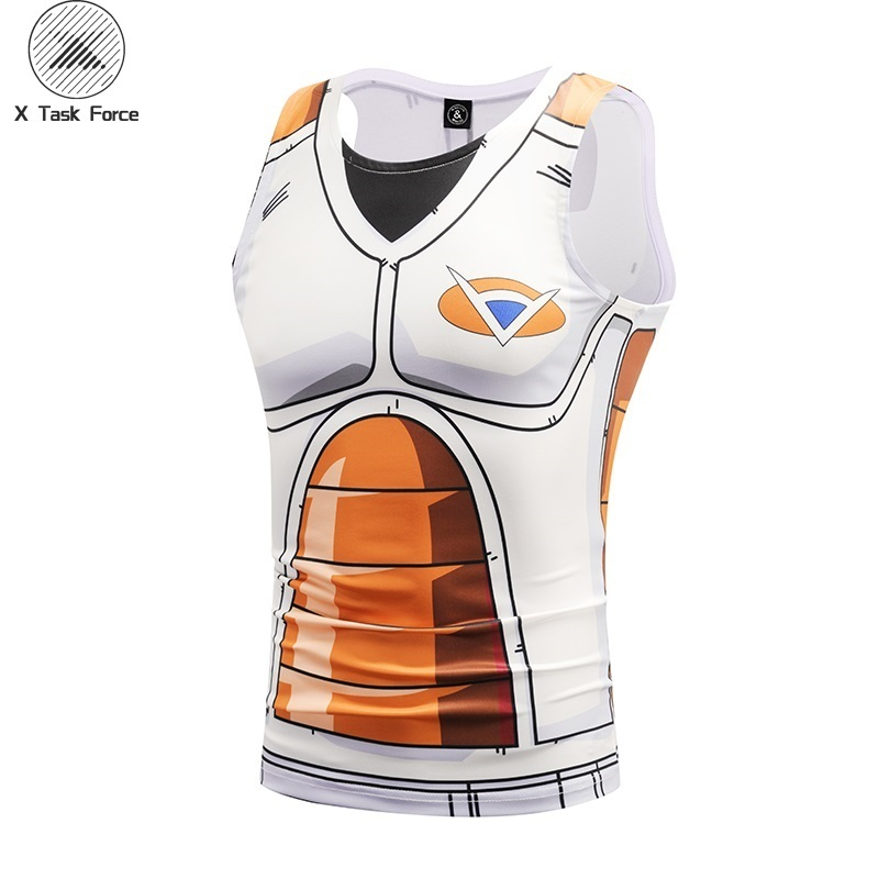 sleeveless vest Classic Anime Dragon Ball Z Super Saiyan 3d   tank     tops   tees Summer Clothes Dragonball Tee