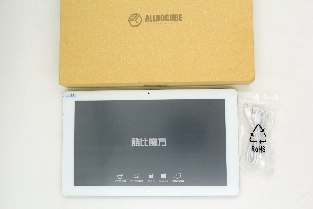 Alldocube/Cube iwork1x 2 in 1 Tablet PC 11.6 inch Win 10 Intel Atom X5-Z8350 64bit Quad Core 4GB RAM 64GB ROM IPS Screen