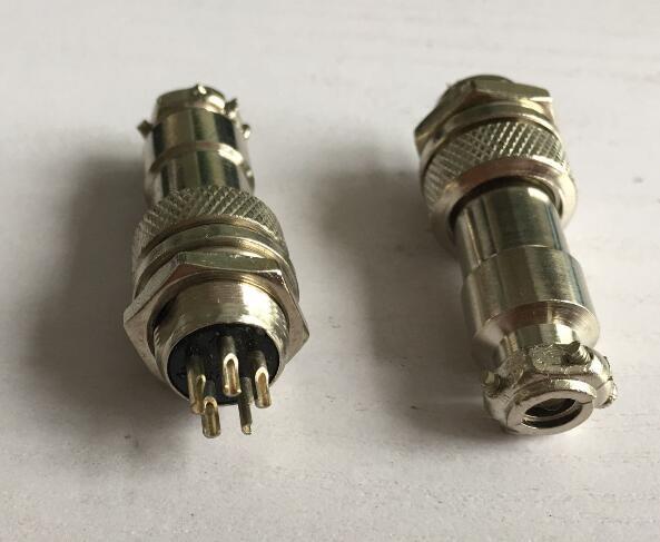 5pcs Aviation Plug Male & Female Panel Metal Wire Connector 12mm GX12-2P/GX12-3P/GX12-4P/GX12-5P/GX12-6 P акустические кабели atlas hyper bi wire 2 to 4 5 0m transpose z plug gold