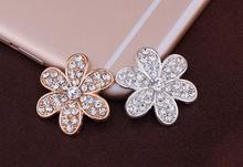100pcs/lot 27mm Alloy parts Rhinestone buttons crystal Alloy Button for wedding/party/dress accessories/Mobile phone alloy stick