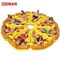DMAR inflable Pizza gigante piscina flotador playa colchón 180 cm anillo de natación círculo Lifebuoy agua fiesta juguetes niños adultos flamenco