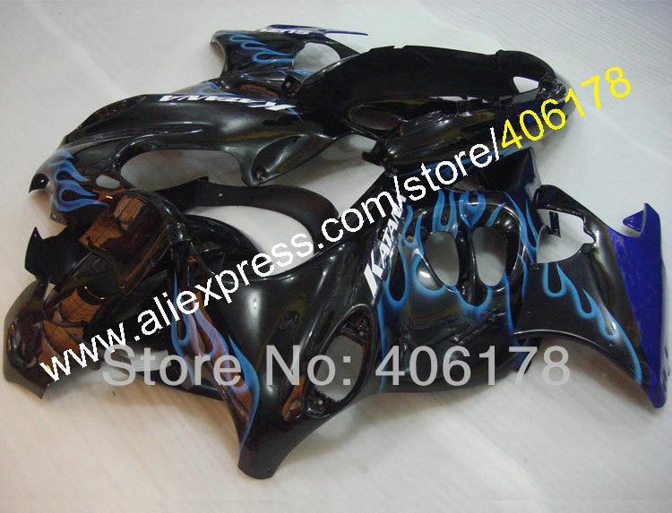 Горячие продаж,для Suzuki GSX600F GSX750F 98-07 Катана обтекатель части GSX750 600f 1998-2007 синий пламя мотоциклов Обтекатели Спортбайков
