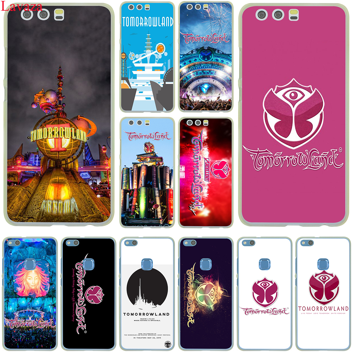 Lavaza Belgium Tomorrowland Music Festival Case for Huawei P20 P10 P9 Plus P8 Lite Mini 2016 2017 P Smart Mate 9 10 Lite Pro