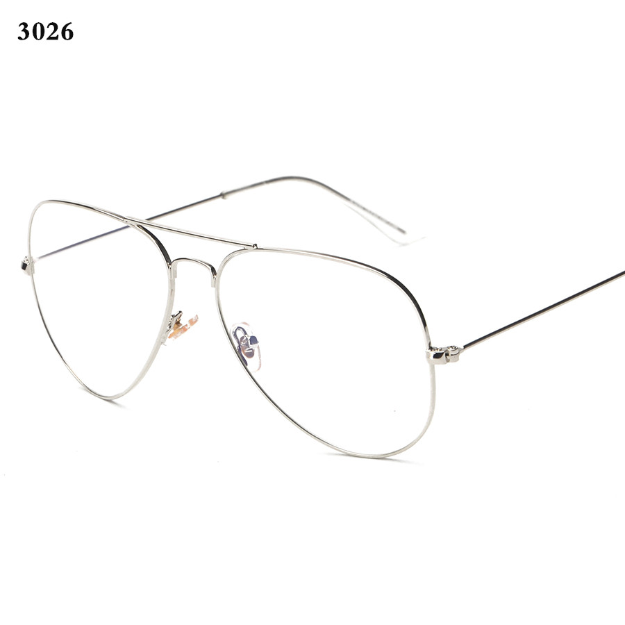 6262c574b9e1 Brand Mens Eyeglasses Gold Rimmed Glasses 3025 3026 Vintage Eyewear Women  Retro Nerd Glasses Fashion Eyeglass Frame Gafas de ver-in Eyewear Frames  from ...