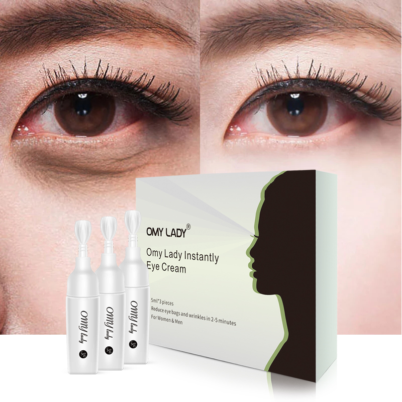 OMYLADY Collagen Eye Cream Ageless Remove Dark Circles Eye Bags Under The Eyes Moisturising Anti Puffiness Whitening Eyes Skin under the skin