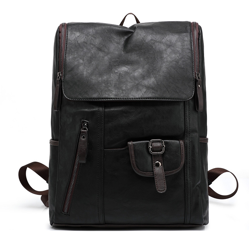 New fashion backpack Pu leather male Large capacity travel student bag men and women High quality laptop bag Casual backpacks 2017 new masked rider laptop backpack bags cosplay animg kamen rider shoulders school student bag travel men and women backpacks