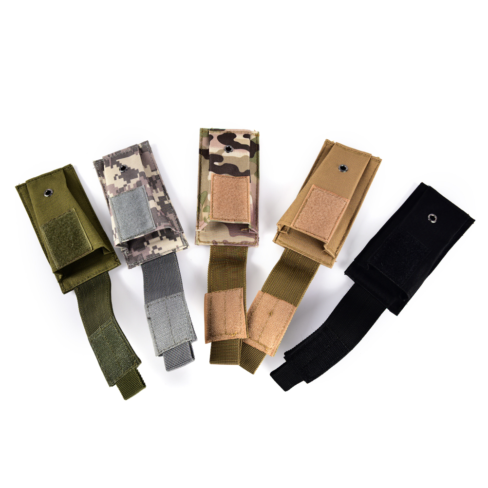 Competent Hot Open Top Pouch Cartridge Bags Tactical Pouches Molle Clip Single Magazine Pouch Hunting Knife Flashlight Sheath Bag