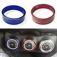 3 Pcs Set Car Styling Aluminum Alloy Interior Air Conditioning Control Trim Knobs For Mitsubishi ASX