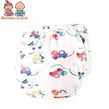 1pc retail! Reusable Baby Training Pants Infant Shorts Cloth Diaper Nappies Baby Waterproof Potty Training panties 80/90/100(China)