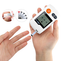 Cofoe Yili Blood Glucose Meter &100pcs Strips & 100pcs Lancets Diabetic Tester Medical Blood Sugar Monitor Glucometer For Tester