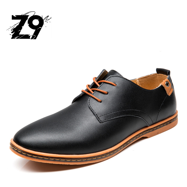 28bdfc06a22 2016 TOP Z9 CLASSIC MEN SHOES OXFORD MEN FLATS STYLE COMFORTABLE DRESSING  CASUAL ALL SEASON LEATHER