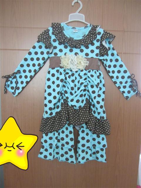 Nova moda de luxo crianças fabricantes de roupas plissado do roupas com roupas flor meninas Persnickety BT005