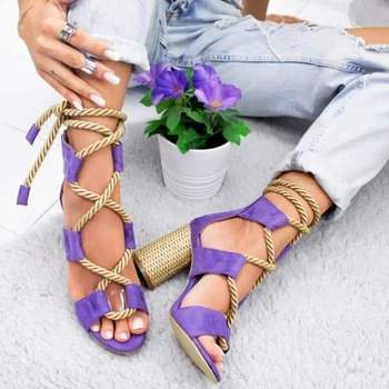 2020 New Women Sandals Shoes Celebrity Wearing Mixed Colors Style Clear Colorful Strappy Sandals High Heels Shoes Mid Heel Shoes 2