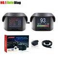 AUTOOL Multi-Função OBD Carro Inteligente medidor Digital & código de Falha de Alarme de temperatura Da Água medidor de tensão digital medidor de velocidade exibição