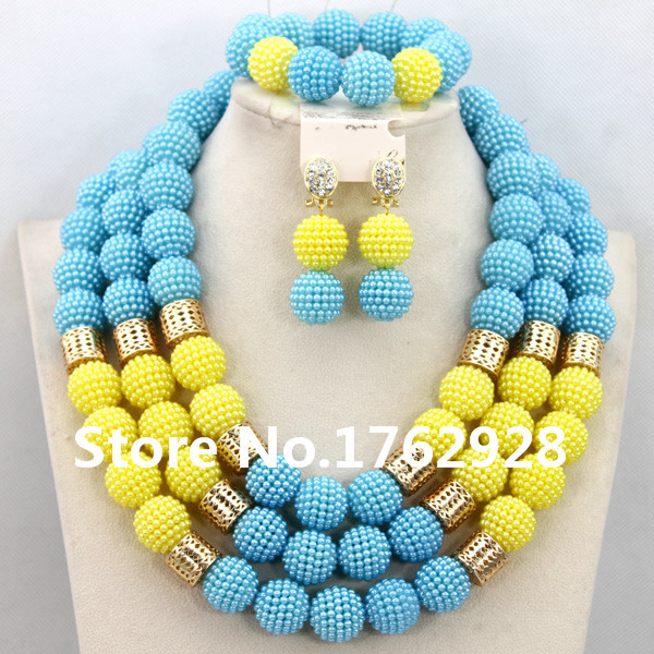 Latest Design African Beads Jewelry Set for Wedding Nigerian Indian Bridal Women Jewelry Set Free Shipping(China (Mainland))