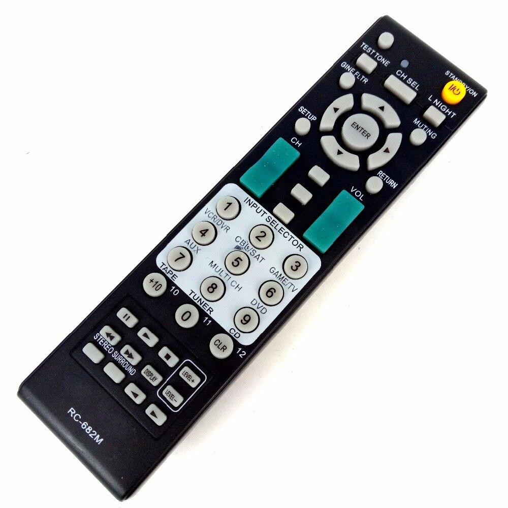Nuevo mando a distancia para Onkyo energía Amplificadores AV receptor rc-682m para rc-681m rc-606s rc-607m sr603/502/504 htr550 htr550s htr557