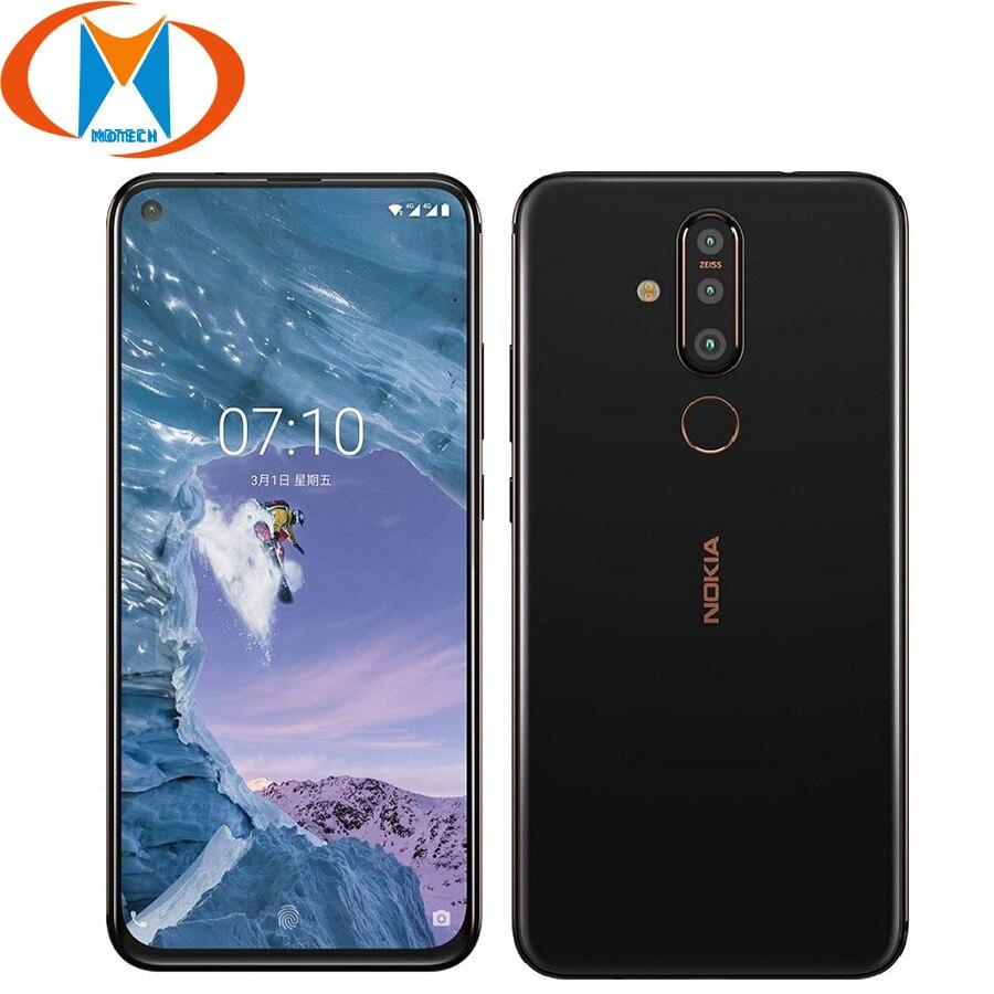 NOKIA X71 6.39 Inch 3500mAh 2310x1080 Smartphone Snapdragon 660 6GB+64GB RAM 128GB ROM Octa Core Fingerprint 4G LTE Mobile Phone(China)