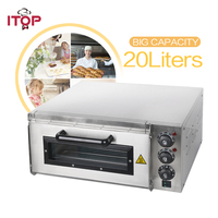 ITOP Single Layer Pizza Oven Professional Baking Machine Suitable for Restaurant shop with stone inside