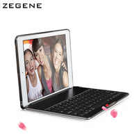 For Apple Ipad4 Ipad3 Ipad2 Bluetooth Keyboard Protection Case With A Sleep Frame Ultra Thin Shell