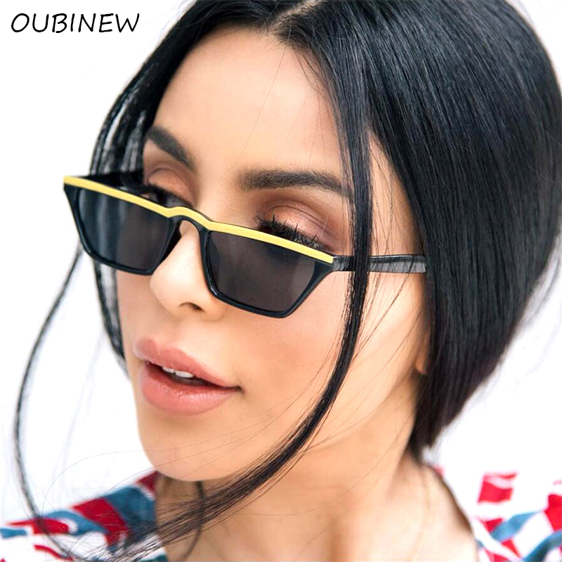 Western Style Vintage Cat Eye Sunglasses Women Luxury Brand Designer Small Red Bean Flower Ladies Retro Female Sun Glasses in Women 39 s Sunglasses from Apparel Accessories