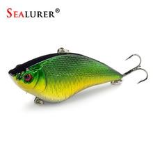 Sealurer 1PCS VIB Fishing Lure Medium Dive Wobble Floating 16.4g 7cm Hard Bait Crankbait Fish Tackle 5 Colors Available