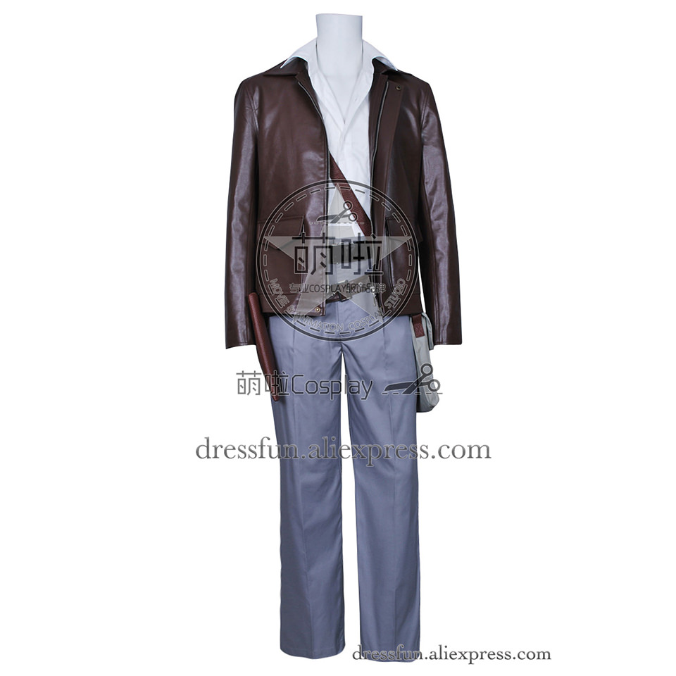 Indiana Jones Cosplay Harrison Ford Costume New Cool Jacket Suit Uniform Outfits Shirt Halloween Fashion Party Fast Shipping