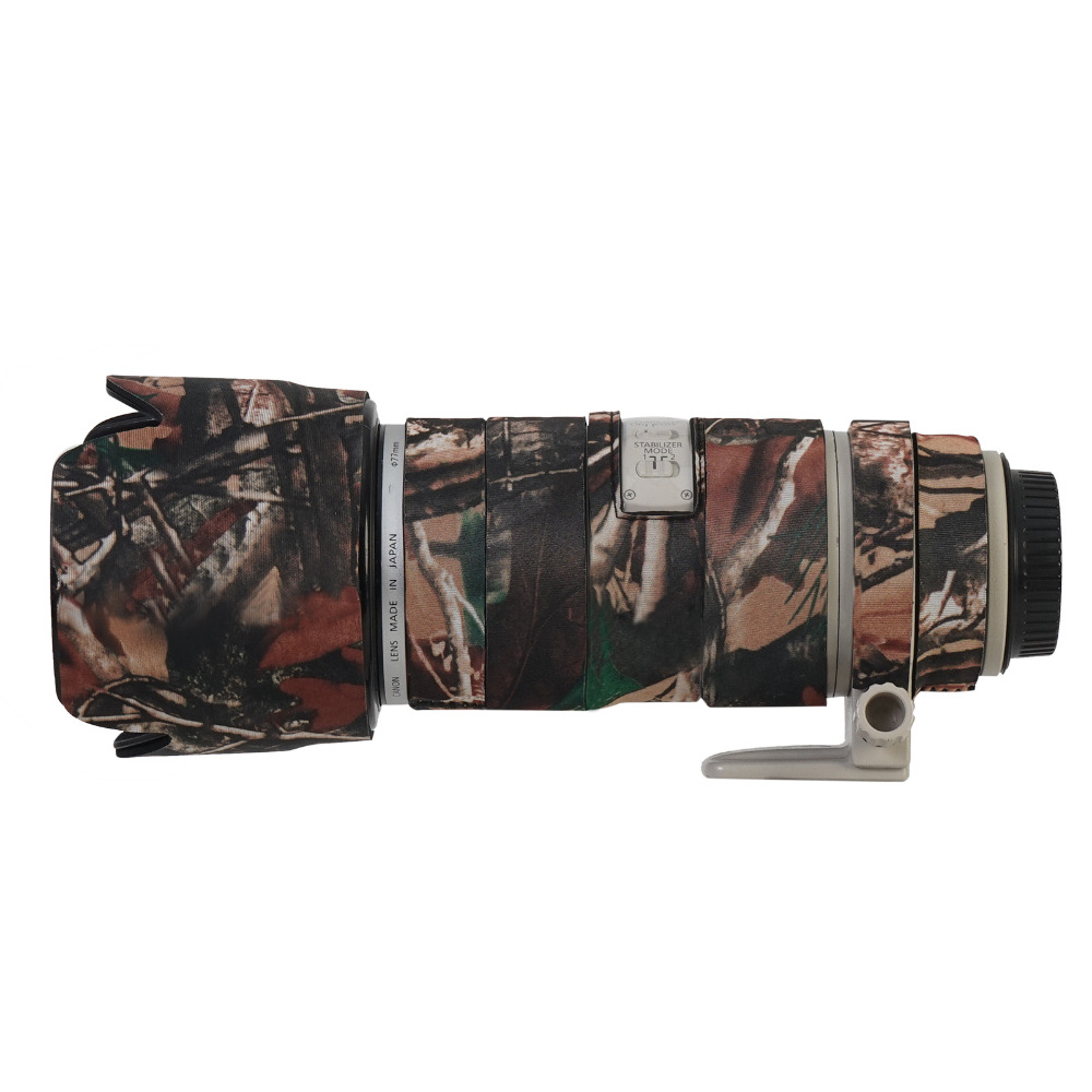 Camo Waterproof Neoprene Camera Lens Protective Coat Cover For Canon 70 200mm F2.8IS lens Rain Case Camouflage Gun Clothing-in Camera/Video Bags from Consumer Electronics    1