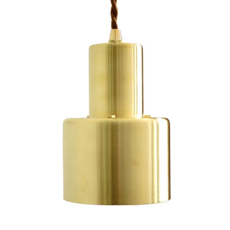Indoor Nordic Simple Wrought Iron Plating Golden Copper Chandelier Vintage Shop Bedroom Decoration Bedside Lamp Spot PendantIndoor Nordic Simple Wrought Iron Plating Golden Copper Chandelier Vintage Shop Bedroom Decoration Bedside Lamp Spot Pendant