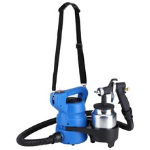1000mL 650W Electric Painting Spray Gun Paint Container Home Improvement Tool DIY Working