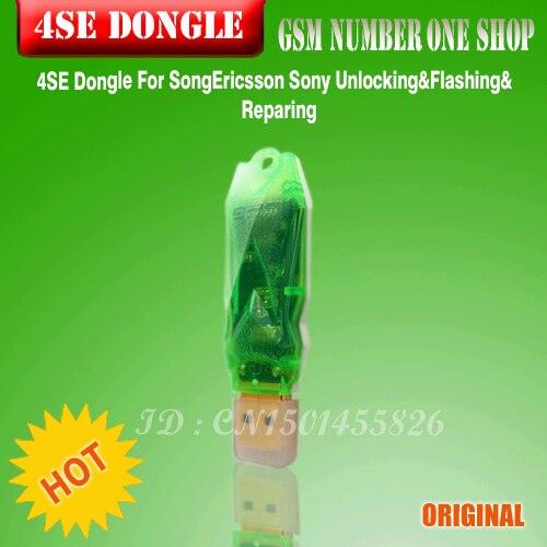 100%original 4SE Dongle For SongEricsson Sony Unlocking&Flashing&Reparing Clear UNLIMITED UNLOCKING FLASH REPAIR + Fast Shipping