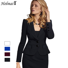 HOLMAI Bussiness Women's Suit 2017 Autumn Long Sleeve Women's Jackets Slim Outwear Ladies Plus Size Suit