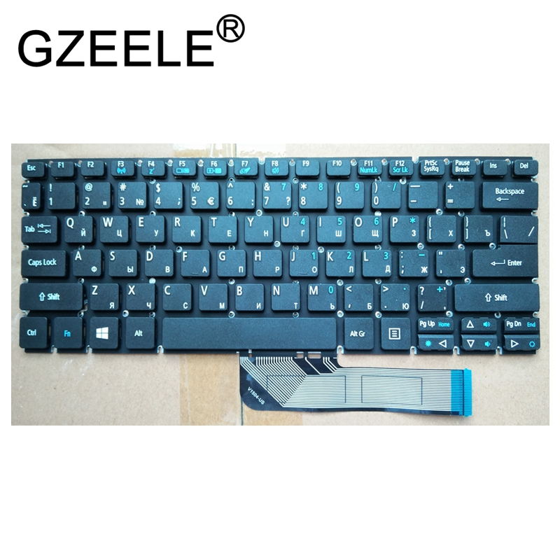 GZEELE NEW for Acer Aspire Switch 10 SW5-011 SW5-011-18TY SW5-012 SW5-013 SW5-015 ru Keyboard BLACK russian автомобильный компрессор качок k90n