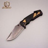 2018 New Tool Sharpener Tactical Knife Stonewash Survival Hunting Titanium Folding Blade Pocket Stainless Steel Knife