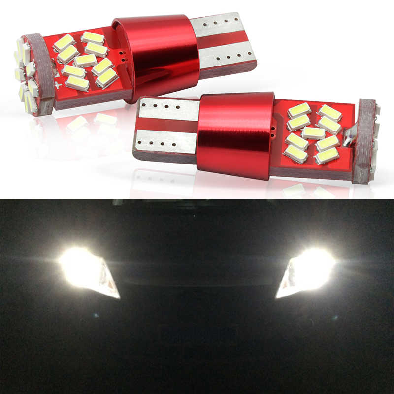 CANBUS T10 27 SMD LED 6000K BULB LICENSE PLATE LIGHT 168 12961 FOR Lexus Sub Sci