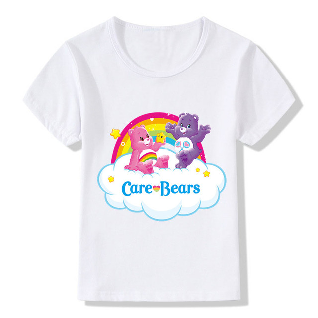 60c6d9a7c8 Care Bears Cartoon Design Funny Children's T shirt Kids Clothes Cute Bears  Boys Girls Tops Kawaii Tees For Toddler Baby,HKP5146